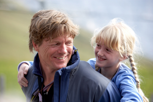 John and Siena, age 9 at the time.